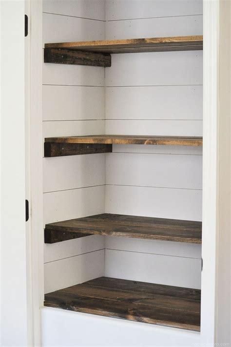 66 easy affordable diy wood closet shelves ideas