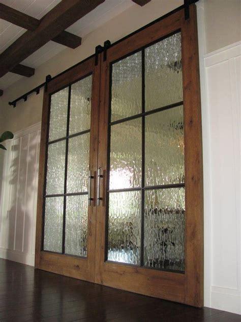 Glass Barn Doors Interior Best 25 Glass Barn Doors Ideas On Interior Glass Barn Doors Separate And Sliding