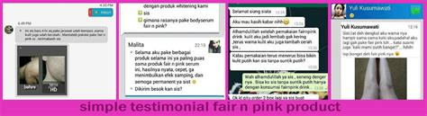 Fair N Pink Serum Malang fair n pink review testimoni harga serum cc