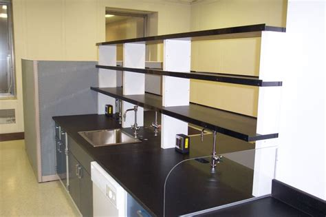 Reagent Shelf by Reagent Shelving With Spill Laboratory Faucets Fixtures Sinks Shelving And