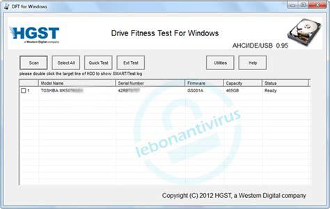 drive fitness test les 5 logiciels de test de disque dur gratuit