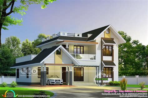 house design pictures in kerala august 2017 kerala home design and floor plans