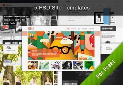 wordpress themes free commercial use free deal 5 premium psd themes with commercial use