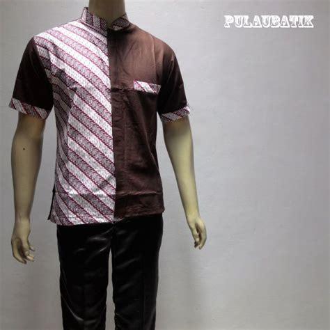 Promo Murah Hem Pria Kemeja Batik Pria Kombinasi Sogan Klasik Harsa 4 83 best batik pria hem kemeja images on