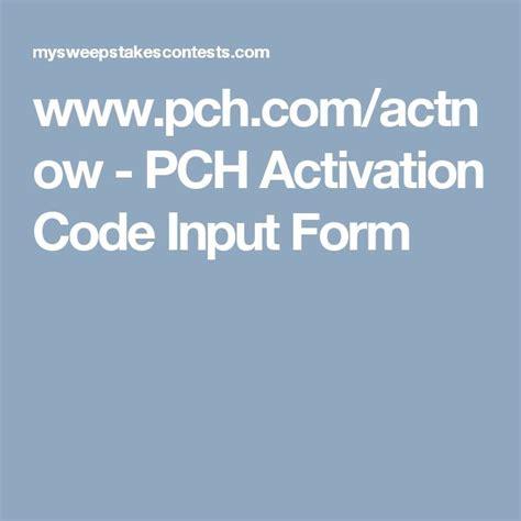 Www Pch Com Actnow Activation Code - 25 best ideas about form input on pinterest parent teacher communication parent