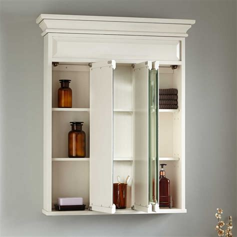 ideas update  cabinet  charming tri view medicine