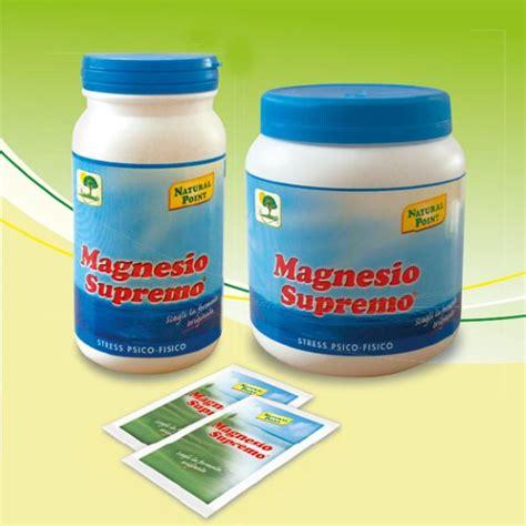 magnesio supremo ai bambini point magnesio supremo 300gr polvere