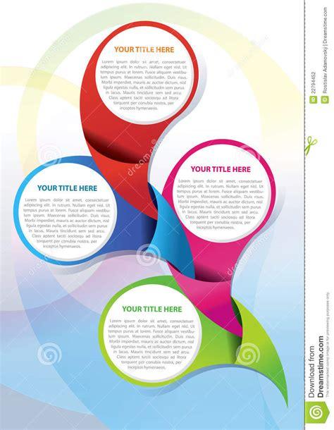 vector leaflet design eps vector brochure background concept stock vector image