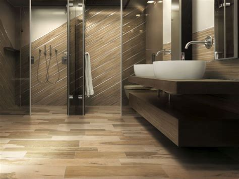 legno bagno bagno con pavimento in gres effetto legno un nuovo bagno