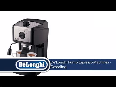 delonghi espresso cleaning delonghi ec155 cleaning delonghi pump espresso machines