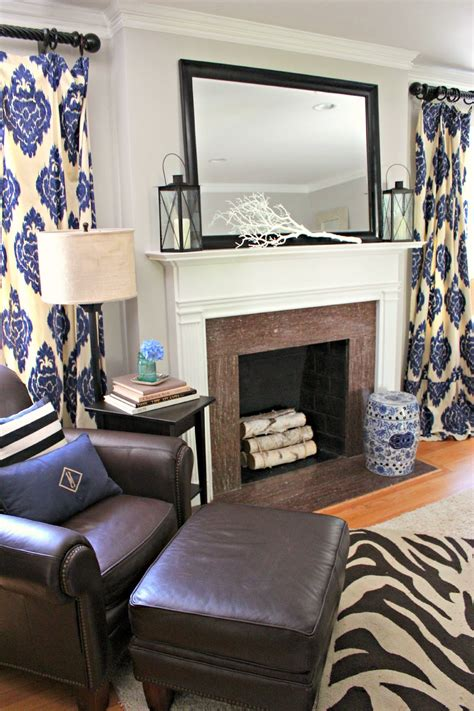 navy blue and chocolate brown living room feeling blue as in navy southern state of mind