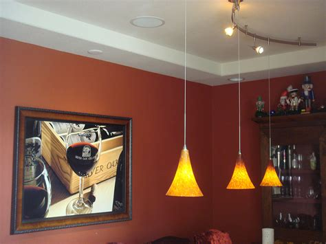 Dining Room On Small Appliance Circuit Custom 2 Circuit Monorail Lighting With Pendant Lights