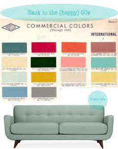fifties colors 100 best vintage color palettes images on pinterest