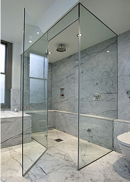 Shower Door Nyc Frameless Shower Doors Frameless Glass Enclosures Contemporary Shower Doors New York By