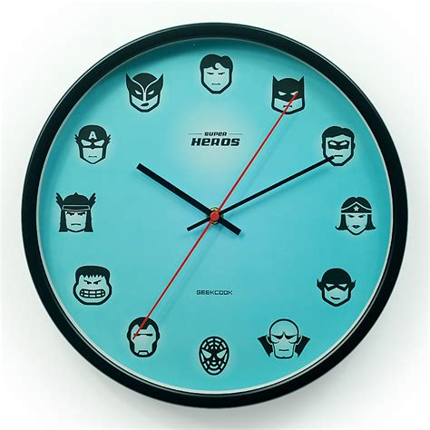 large antique vintage style wall clock modern home original super hero style metal antique wall clock modern