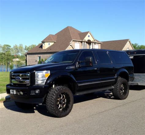 ford excursion limited  powerstroke diesel front