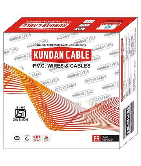 cost of 6 3 electrical wire buy kundan cable 2 5mm electrical multistrand wire