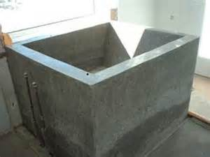 diy concrete tubs and soaking tubs on
