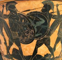 Greek Vase Painting Styles If So Much Greek Art Pottery Depicts Warriors Holding