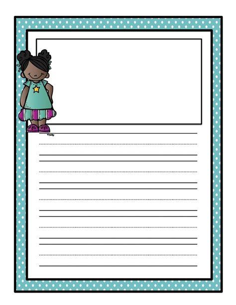 printable kindergarten journal 1000 images about templates on pinterest handwriting