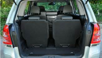Opel Zafira 7 Seater Luggage Capacity Hire A 7 Seater In Surrey Hshire And Kent