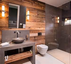 Mobile Home Interior Wall Paneling by Badkamers Voorbeelden 187 Moderne Natuurlijke Badkamer
