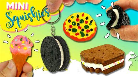 imagenes de llaveros kawaii mini squishy food oreo pizza helado squishies llaveros