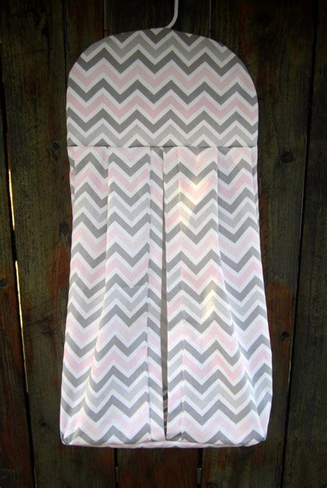 pattern for hanging diaper holder custom chevron diaper stacker baby childrens room