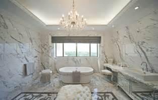 Villa luxury bathroom interior design by european style 3d interior