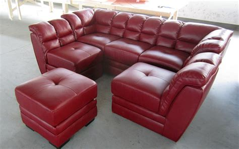 cheap red leather sofas cheap red l shaped sofa half round sectional leather sofa