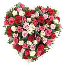 gerbe fleurs enterrement solid with mixed roses arrangement delivered by the