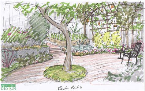 drawing of garden garden drawing details drawntogarden