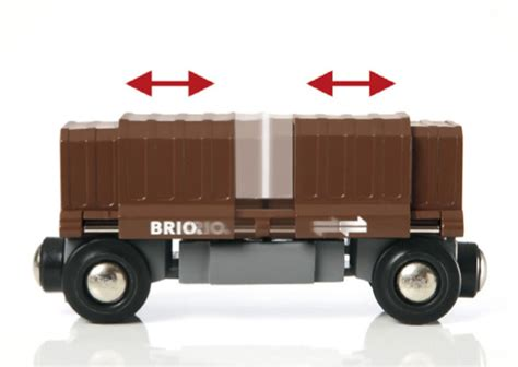 brio train cars box car train brio