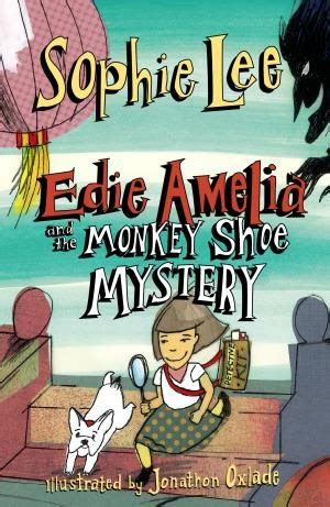 without shoes the ambrose mystery books book review review edie amelia and the monkey shoe