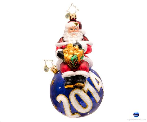 christopher radko a year for cheer christmas ornament