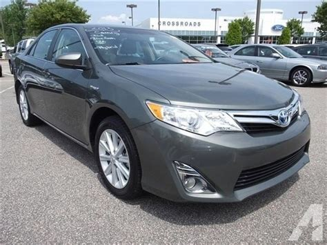 2012 toyota camry hybrid for sale 2012 toyota camry hybrid xle forest nc for sale in