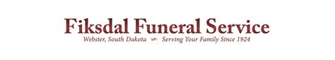 fiksdal funeral service webster south dakota