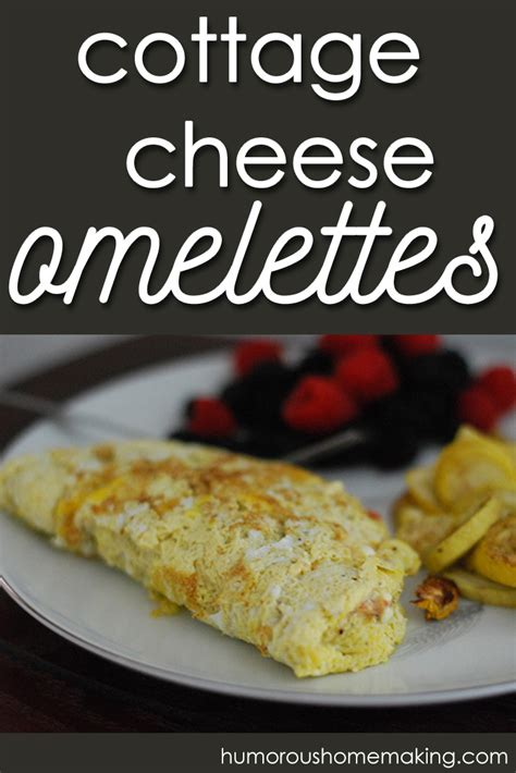 Cottage Cheese Omelette by Cottage Cheese Omelet Humorous Homemaking