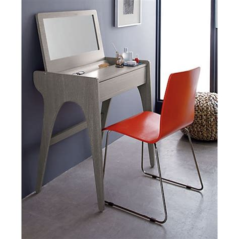 Cb2 Vanity Table might room for a vanity like this if we pull a wall or two with the bathroom update