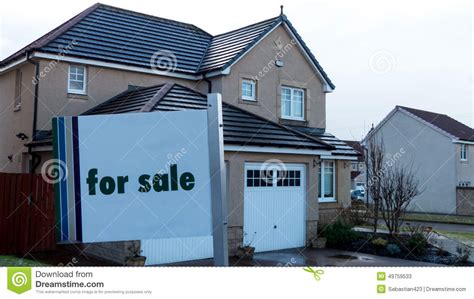 house sale insurance house for sale stock photo image 49759533