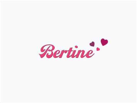 Bertine Shop by Bertine Gutscheine Juli 2018 Gratis Versand
