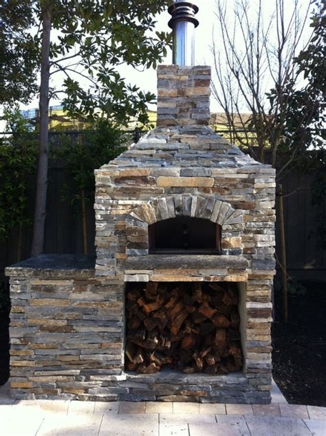 Outdoor Patio Pizza Oven by Outdoor Hip Roof Wood Fired Pizza Ovens Traditional