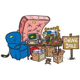 Up After Garage Sale by Trash And Bulk Waste City Of Okc
