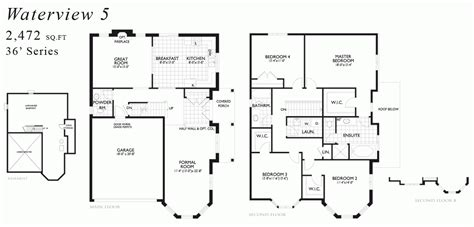 water view house plans waterview home plans all pictures top