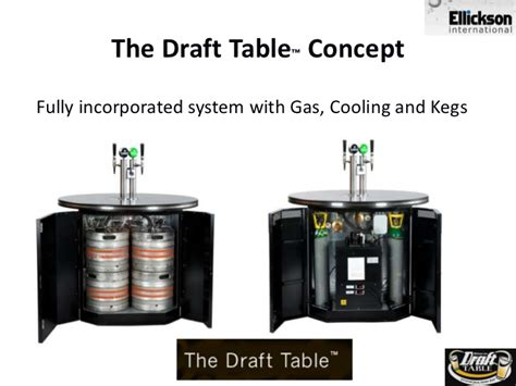 draft table draft table pour pay for at your own table