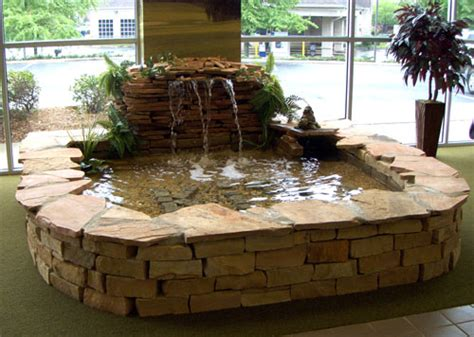 how to build an indoor fountain