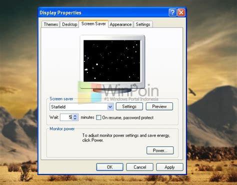 tutorial xp lengkap tutorial lengkap cara mengganti screensaver windows xp