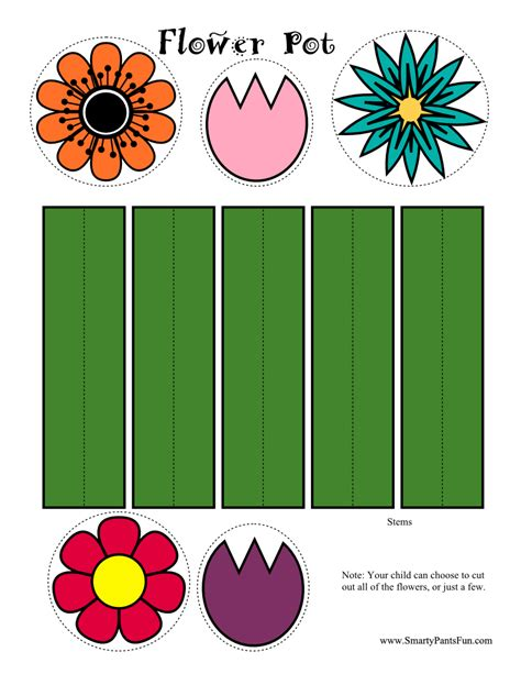 printable spring flowers pictures 8 best images of free printable spring flower crafts