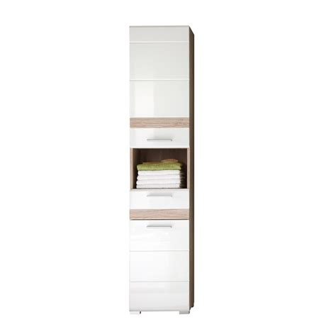 tall bathroom cabinets white gloss milano white gloss tall narrow bathroom cabinet