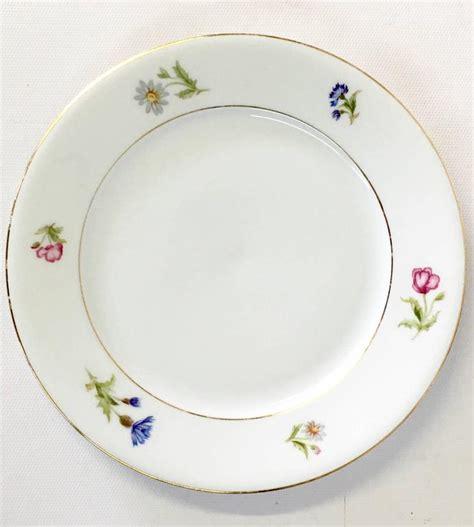 Flower Salad 3l bavaria germany meissen style floral motif porcelain 39
